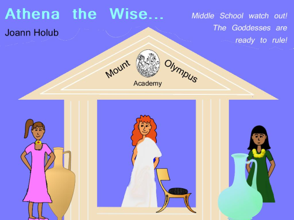 Athena the Wise - book cover