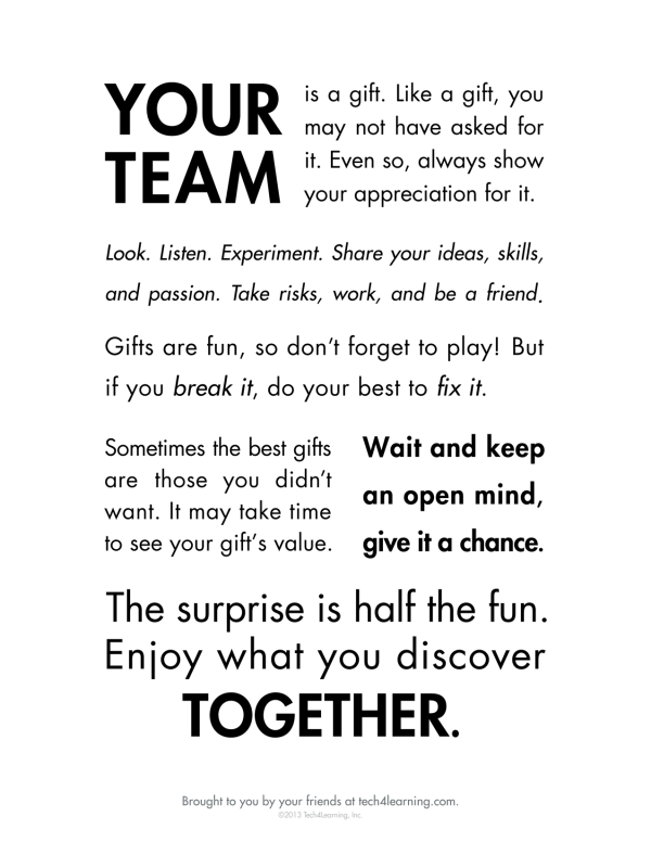 Your team is a gift