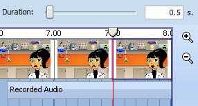 Frames - adjust timing and frames
