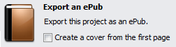 Share 4.1 can export to ePub