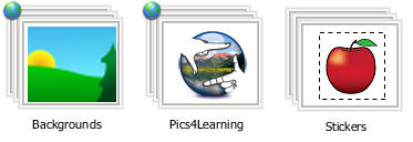 new Library folders in Pixie 4