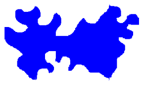 Rotation tessellation completed shape