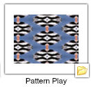 Pattern Play stickers folder