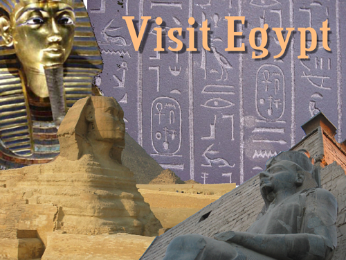 postcard from Egypt