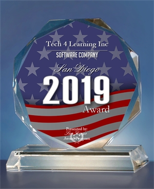 Tech4Learning-SanDiegoAward