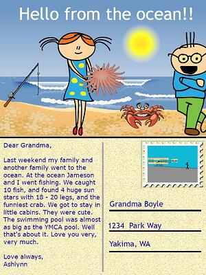 Wixie-summer-postcard
