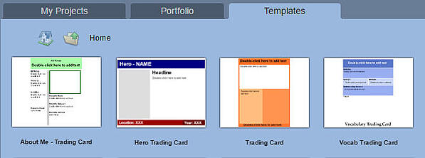 wixie-trading-card-templates