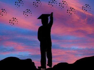 silhouette-graduate