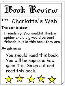 creativeeducator.tech4learning.com2018lessonsimagessample-book-review-charlottes-web