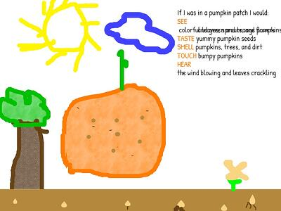 wixie-5-senses-poem-Pumpkin-1