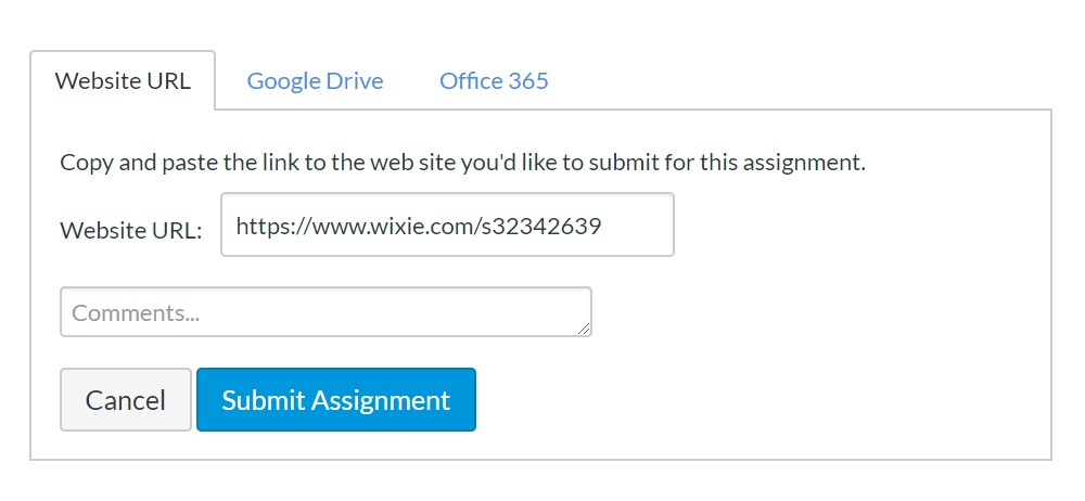 wixie-canvas-submit-assignment