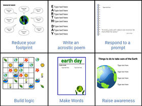 wixie-choice-board-earth-day