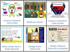 wixie-choice-literature