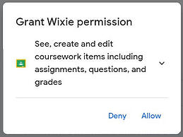wixie-google-permission