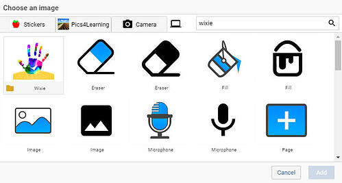 wixie-icon-library