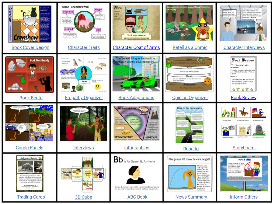 wixie-ideas-board-comprehension