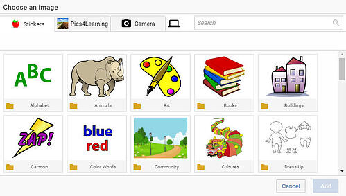 wixie-image-library