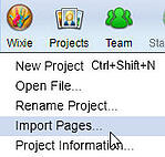 wixie-import-pages