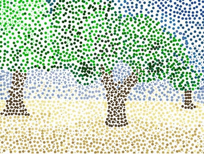 wixie-sample-pointillism-savannah