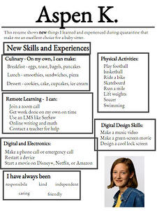 wixie-sample-resume-covid