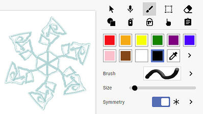 wixie-sample-snowflake-6-sided-symmetry