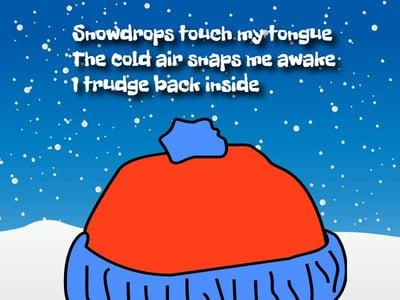 wixie-sample-winter-haiku