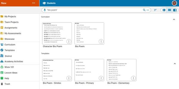 wixie-teacher-home-search-bio-poem
