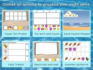 wixie-template-choice-summer-math