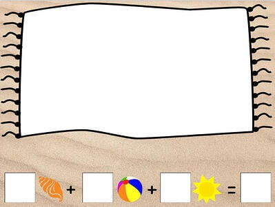 wixie-template-design-beach-towel-counting