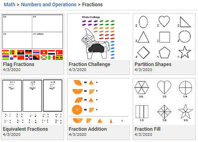 wixie-templates-fractions