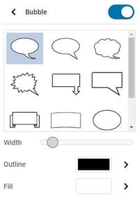 wixie-text-bubble