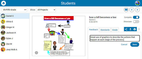 wixie-view-student-graphic-organizer