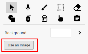 add a background image to Wixie